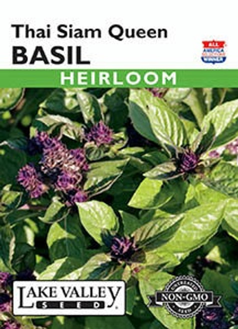 Lake Valley Basil Thai Siam Queen Seed