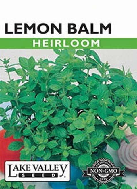 Lake Valley Lemon Balm Seed