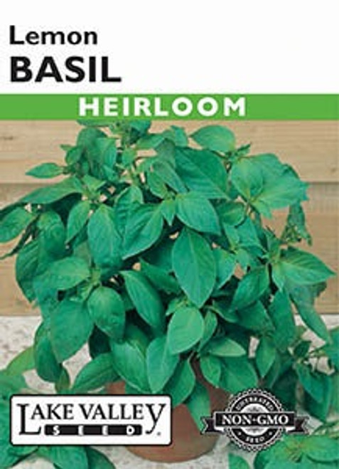 Lake Valley Basil Lemon Seed