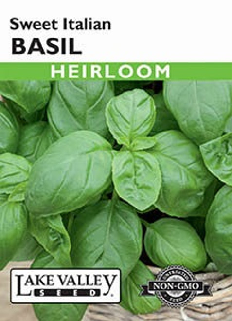 Lake Valley Basil Sweet Italian Seed