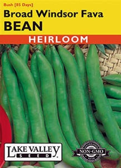 Lake Valley Bean (Fava) Broad Windsor Seed