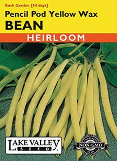 Lake Valley Bean (Bush) Pencil Pod Yellow Seed