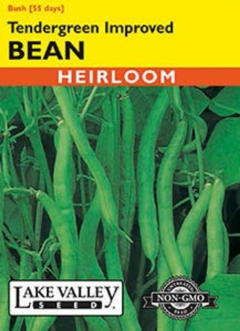 Lake Valley Bean (Bush) Tendergreen Improved Seed