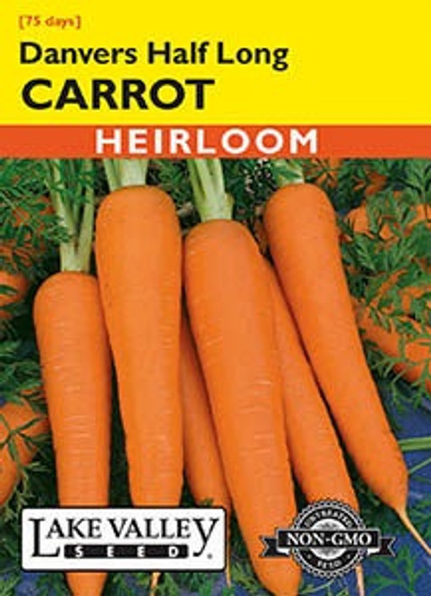 Lake Valley Carrot Danvers Half Long Seed