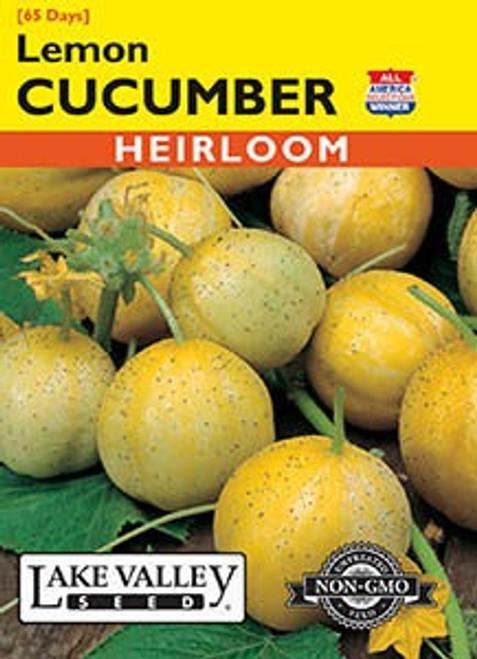 Lake Valley Cucumber Lemon Seed