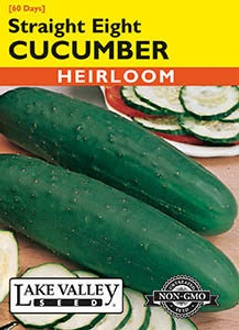 Lake Valley Cucumber Straight Eight Seed