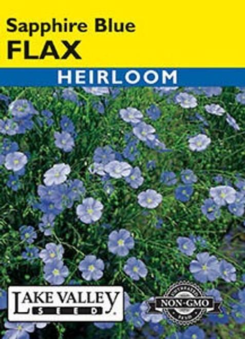 Lake Valley Flax Sapphire Blue Dwarf Seed
