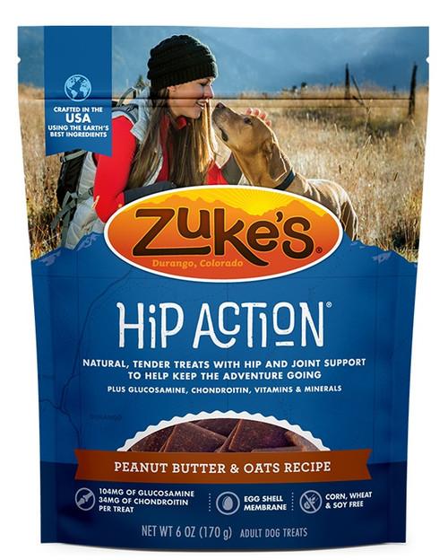 Zuke's Hip Action Peanut Butter Dog Treat