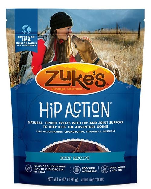 Zuke's Hip Action Beef Dog Treat