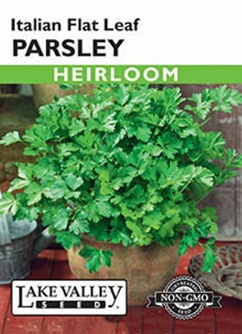 Lake Valley Parsley Italian Flat Leaf Seed