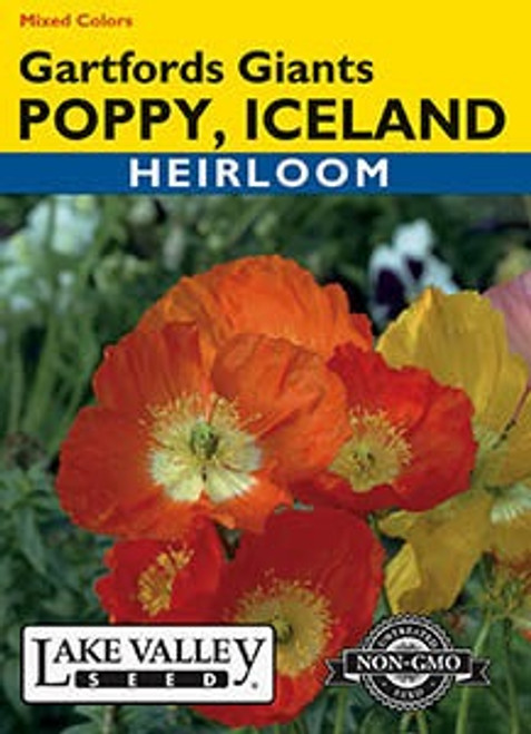 Lake Valley Poppy (Iceland) Gartfords Mixed Seed