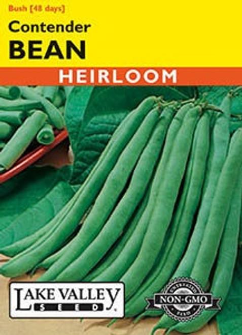 Lake Valley Bean (Bush) Contender Seed