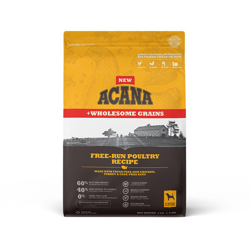 Acana Dog Free-Run Poultry + Wholesome Grains 4lb