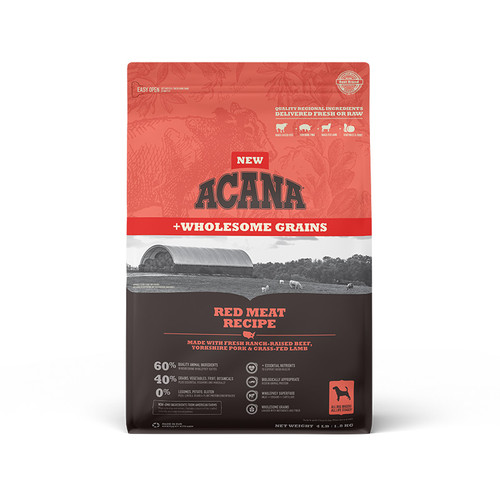 Acana Dog Red Meat + Wholesome Grains  4lb