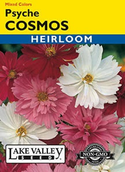 Lake Valley Cosmos Psyche Mixed Colors Seed