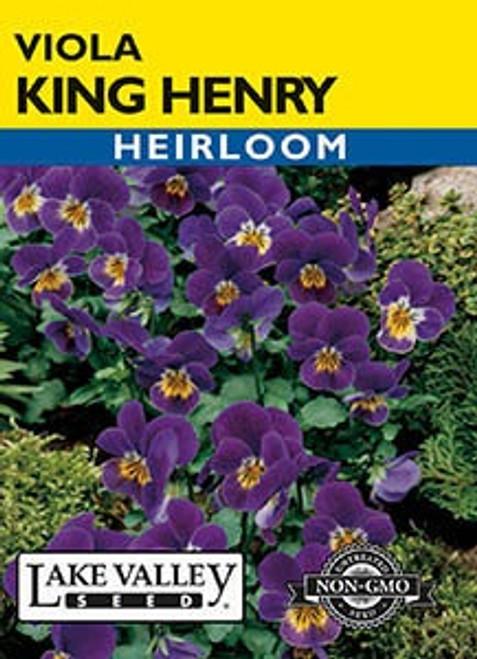 Lake Valley Viola King Henry Seed