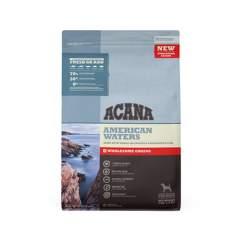 Acana Dog Regionals American Waters + Wholesome Grains 4lb