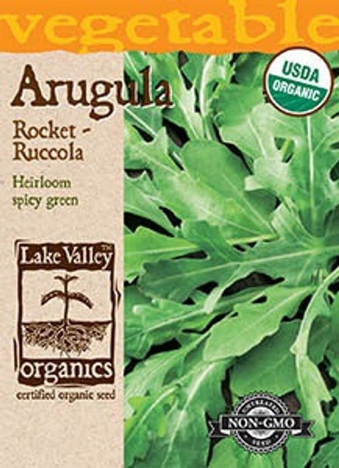 Lake Valley Arugula Organic Seed