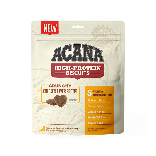 Acana Biscuits Chicken Liver Recipe Small