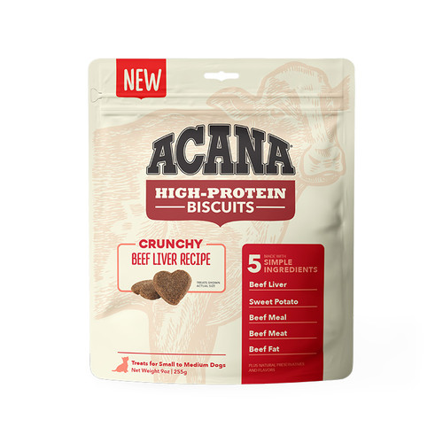 Acana Biscuits Beef Liver Recipe Small