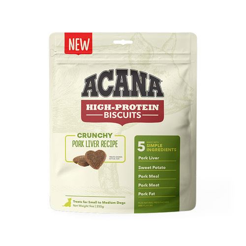 Acana Biscuits Pork Liver Small