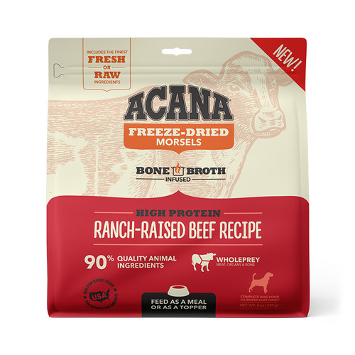 Acana Freeze Dried Morsels, Ranch-Raised Beef