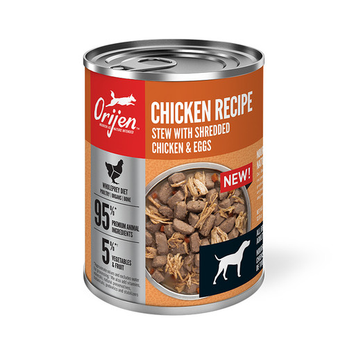 Orijen Canned Dog Food Chicken Stew 12.8oz