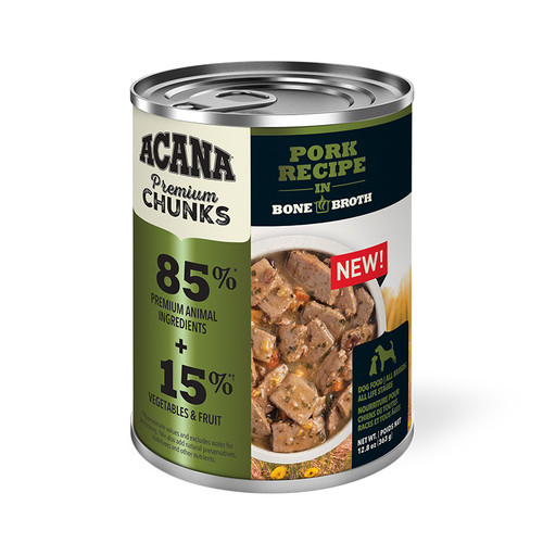 Acana Canned Dog Food Pork Recipe, 12.8oz