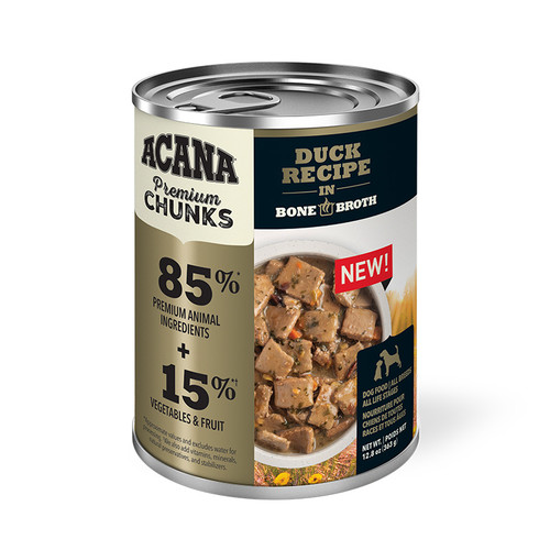 Acana Canned Dog Food Duck Recipe, 12.8oz