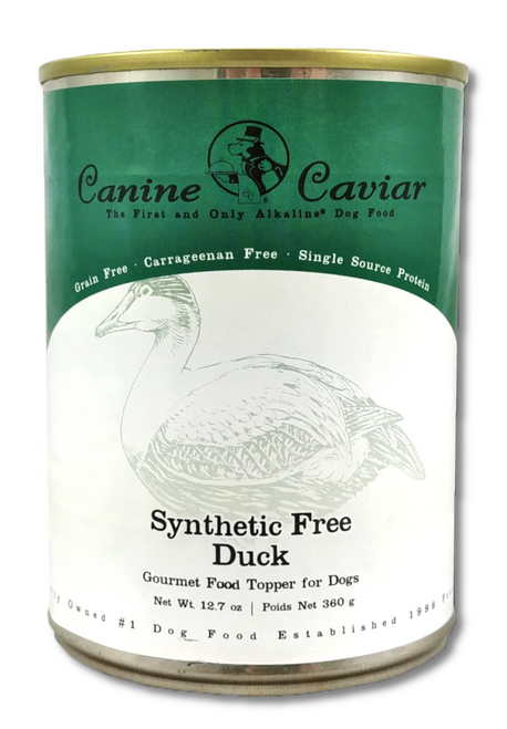 Canine Caviar Canned Grain-Free Duck, 12.7oz