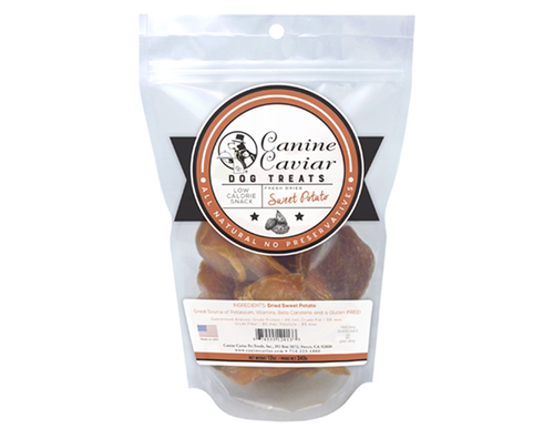 Canine Caviar Dried Sweet Potatoes