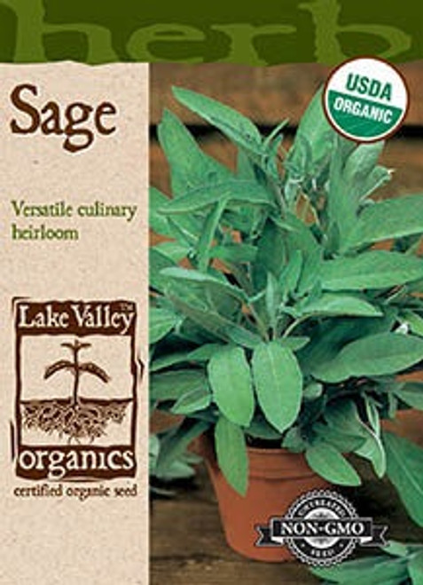 Lake Valley Sage Broadleaf Organic Seed