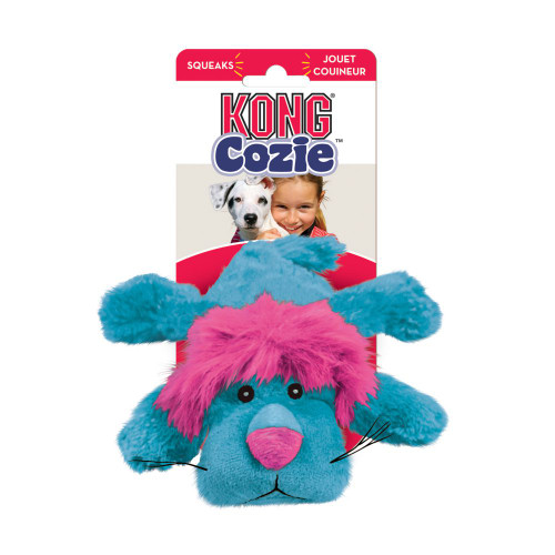 Kong Medium Cozie King Lion Dog Toy