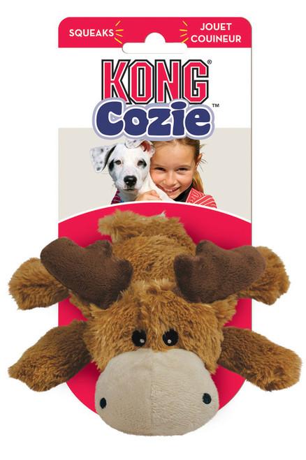 Kong Medium Cozie Marvin Moose Dog Toy
