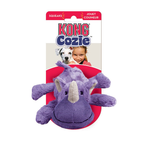 Kong Medium Cozie Rosie Rhino Dog Toy