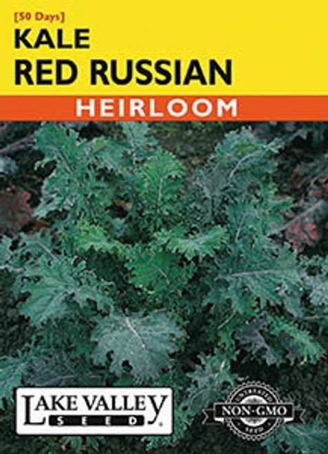 Lake Valley Kale Red Russian Seed