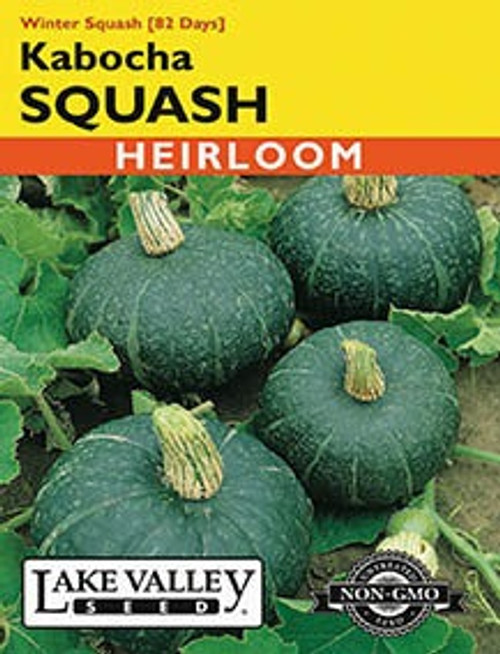 Lake Valley Squash (Winter) Kabocha Seed