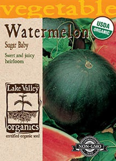 Lake Valley Watermelon Sugar Baby Organic Seed