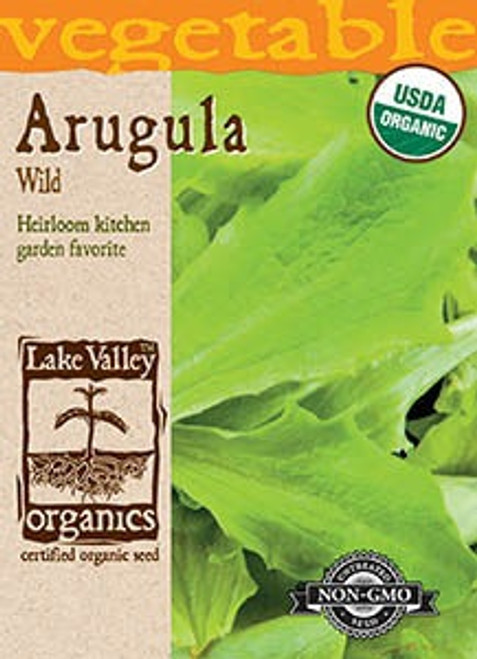 Lake Valley Arugula Wild Organic Seed