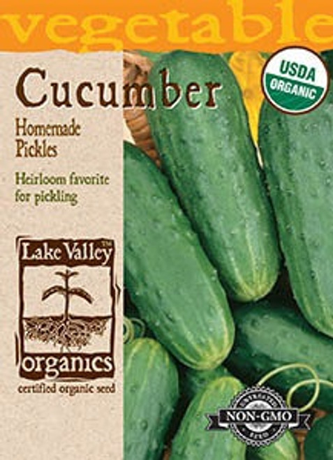 Lake Valley Cucumber Homemade Pickles Organic Seed