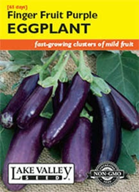 Lake Valley Eggplant Finger Fruit Purple Seed