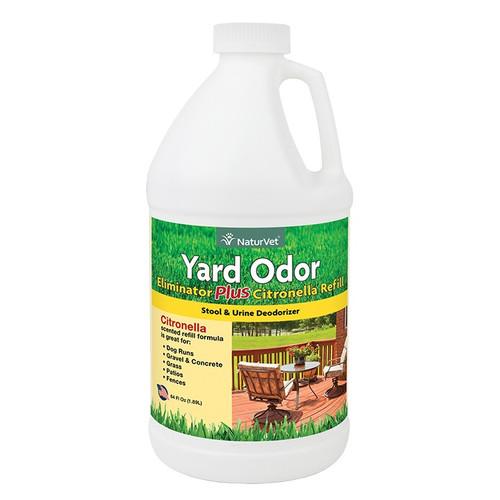 NaturVet Yard Odor Eliminator, 64oz refill