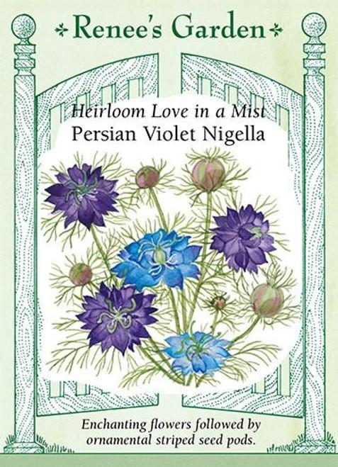 Renee's Garden 'Persian Violet Nigella' Love in a Mist Seed