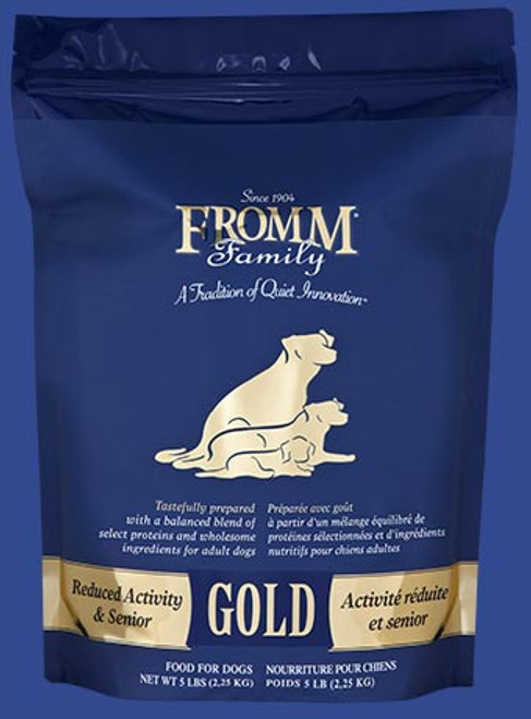 Fromm Dog Reduced Activity & Senior Gold