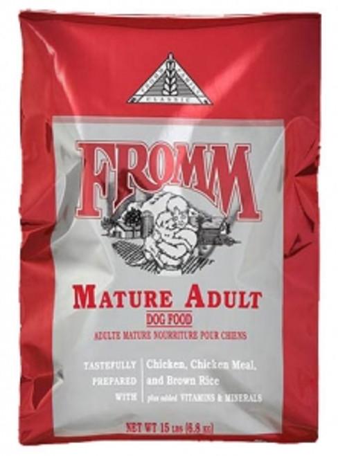 Fromm Dog Mature Adult Formula, 33lb