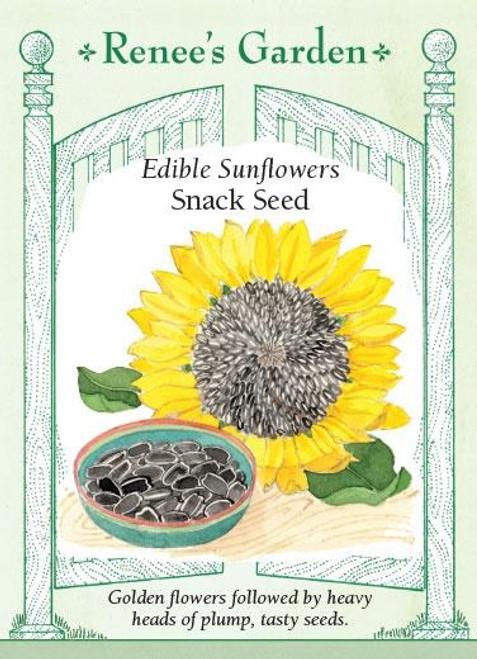 Renee's Garden 'Snack Seed' Edible Sunflowers Seed