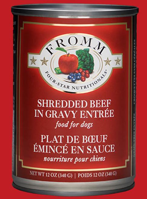 Fromm Shredded Beef in Gravy Entrée, 12oz