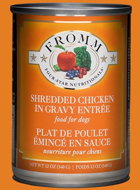 Fromm Shredded Chicken in Gravy Entrée, 12oz