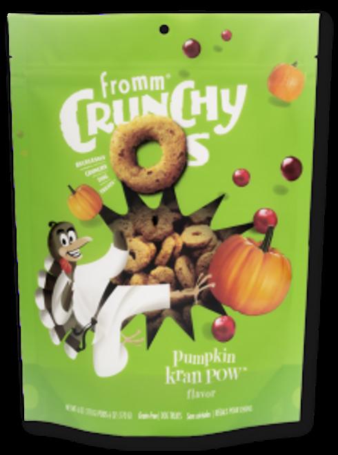 Fromm Crunchy O's Pumpkin Kran Pow Treats, 6oz