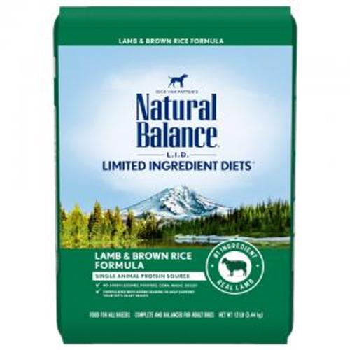 Natural Balance Dog Lamb & Rice